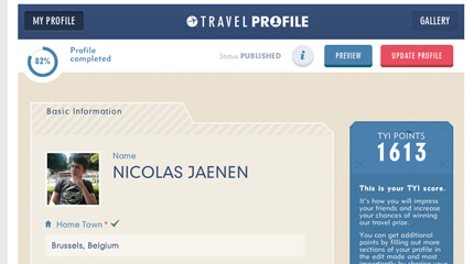 Expedia Travel Profile